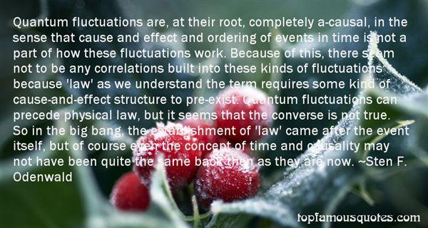 Sten F. Odenwald Quotes