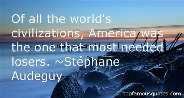 Stéphane Audeguy Quotes