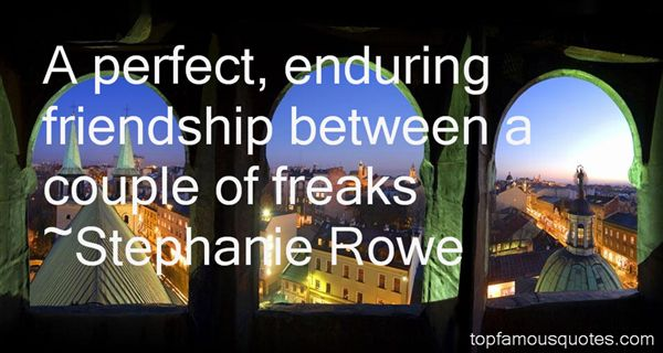Stephanie Rowe Quotes