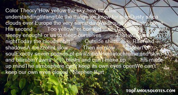 Stephen Burt Quotes