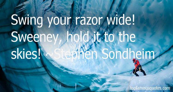 Stephen Sondheim Quotes