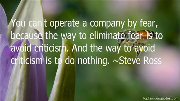 Steve Ross Quotes