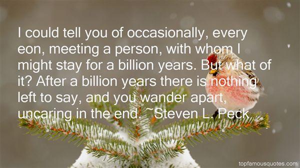 Steven L. Peck Quotes