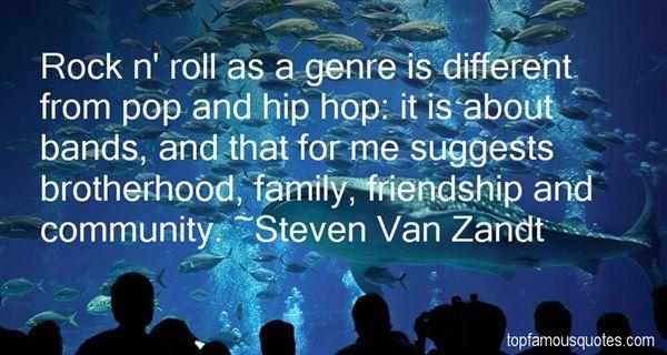 Steven Van Zandt Quotes