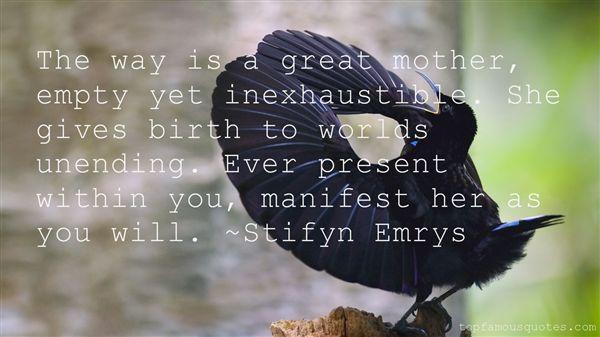 Stifyn Emrys Quotes