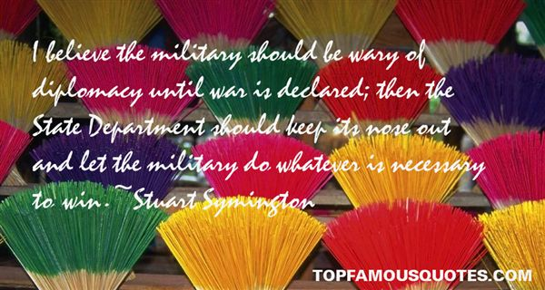Stuart Symington Quotes