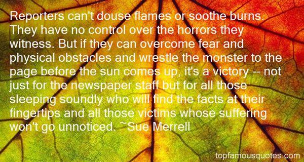 Sue Merrell Quotes