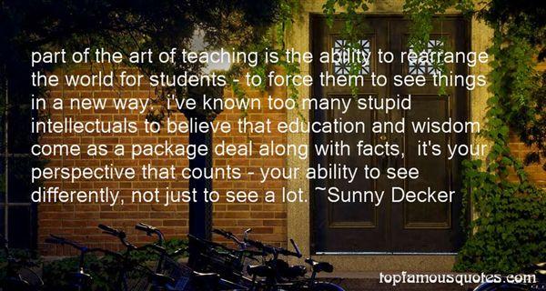 Sunny Decker Quotes