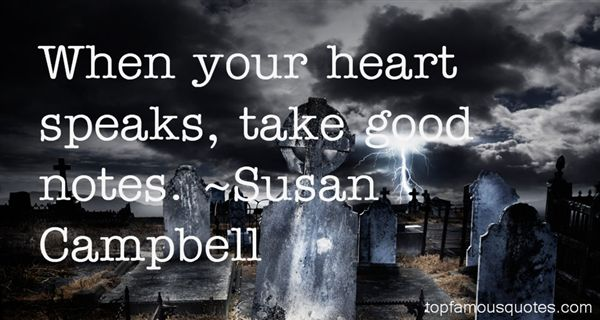 Susan Campbell Quotes