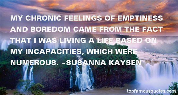 Susanna Kaysen Quotes