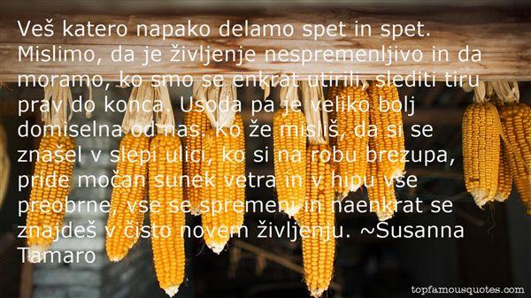 Susanna Tamaro Quotes