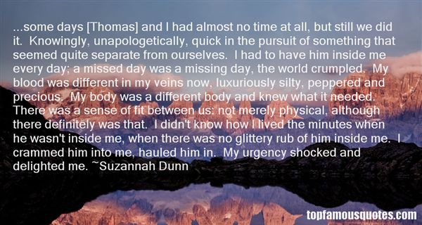 Suzannah Dunn Quotes