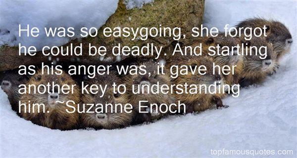 Suzanne Enoch Quotes