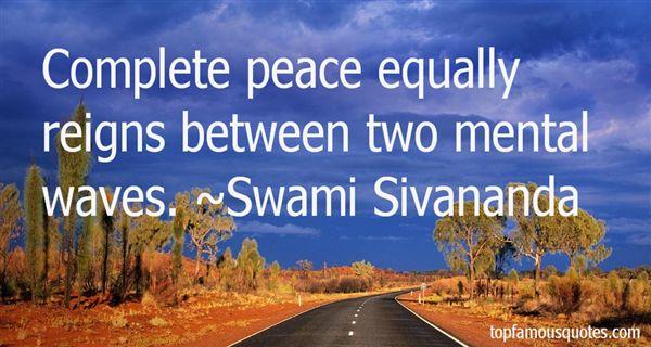 Swami Sivananda Quotes