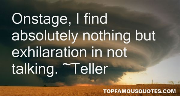 Teller Quotes