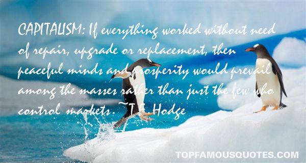 T.F. Hodge Quotes