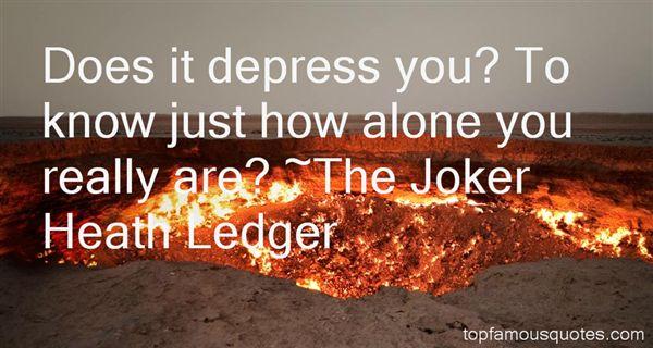 The Joker Heath Ledger Quotes