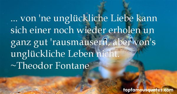 Theodor Fontane Quotes