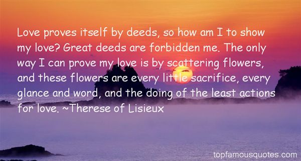 Therese Of Lisieux Quotes