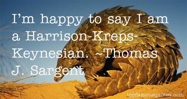 Thomas J. Sargent Quotes