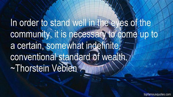 Thorstein Veblen Quotes