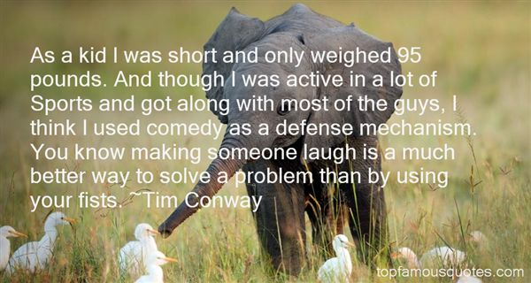 Tim Conway Quotes