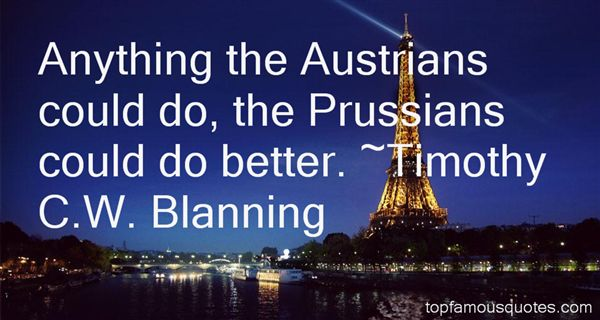 Timothy C.W. Blanning Quotes