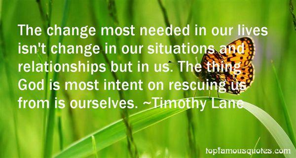 Timothy Lane Quotes