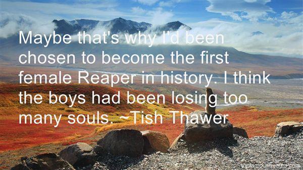 Tish Thawer Quotes