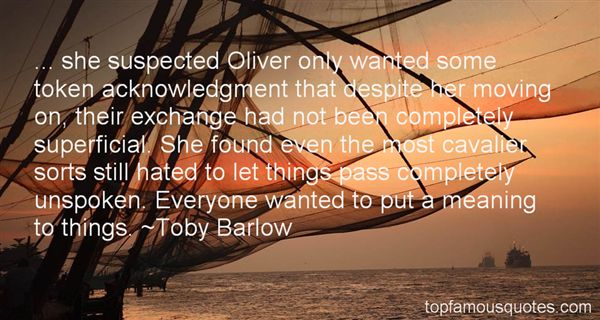 Toby Barlow Quotes