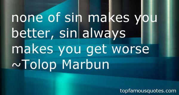 Tolop Marbun Quotes