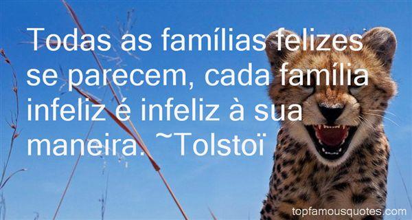 Tolstoï Quotes