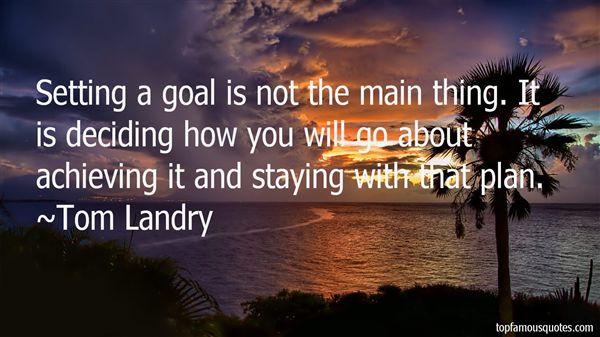 Tom Landry Quotes