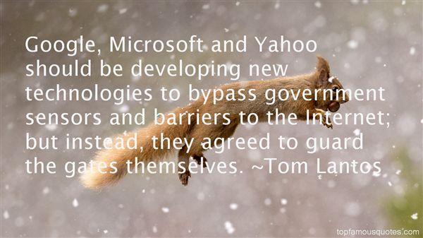 Tom Lantos Quotes