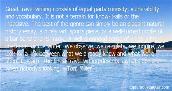 Tom Miller Quotes