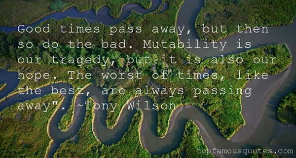 Tony Wilson Quotes