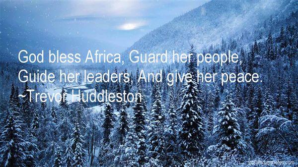 Trevor Huddleston Quotes