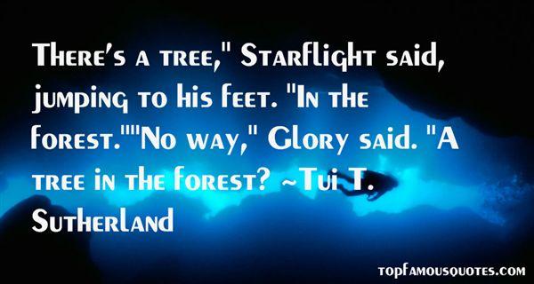 Tui T. Sutherland Quotes