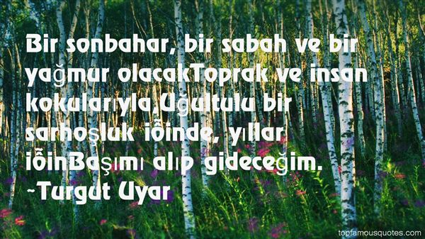 Turgut Uyar Quotes