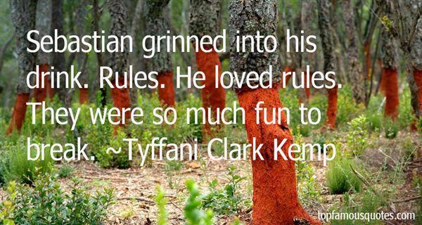 Tyffani Clark Kemp Quotes