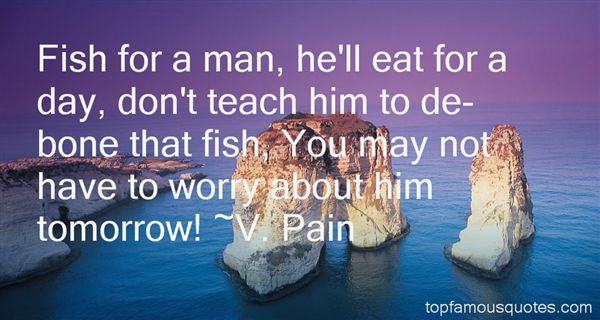 V. Pain Quotes