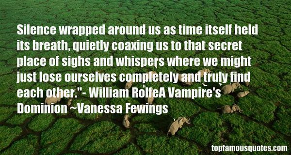 Vanessa Fewings Quotes