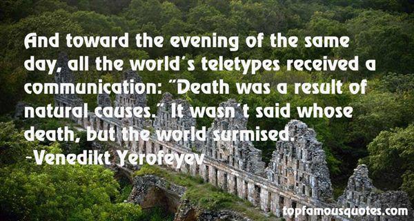 Venedikt Yerofeyev Quotes