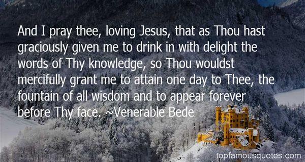 Venerable Bede Quotes