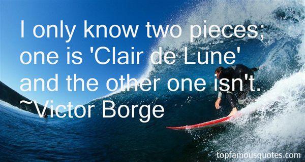 Victor Borge Quotes