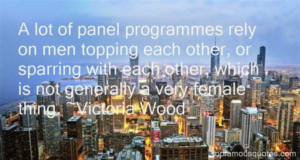 Victoria Wood Quotes
