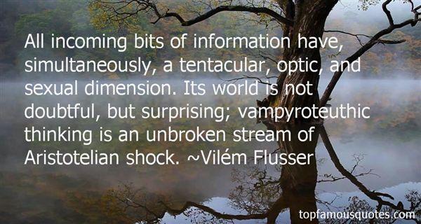 Vilém Flusser Quotes