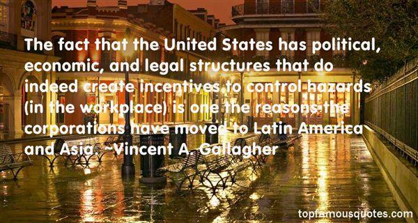 Vincent A. Gallagher Quotes