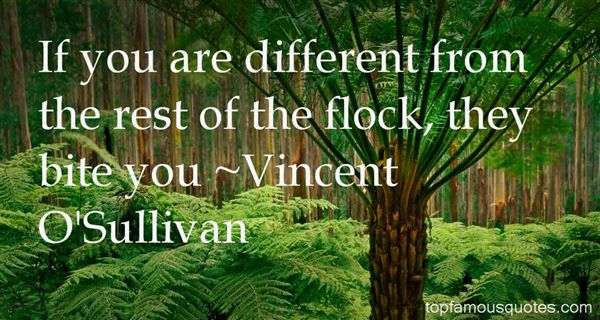 Vincent O'Sullivan Quotes