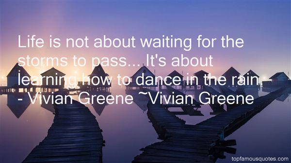 Vivian Greene Quotes